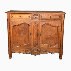 Louis XV French Walnut Credenza, 1770