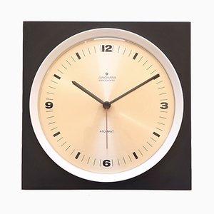 Horloge Murale Minimaliste de Junghans, 1960s