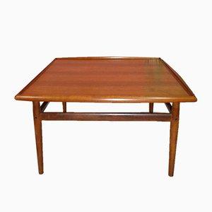 Grande Table Basse en Teck par Grete Jalk pour Glostrup, Danemark, 1960s