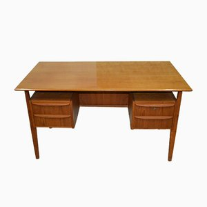Vintage Adjustable Desk by Gunnar Nielsen Tibergaard for Tibergaard