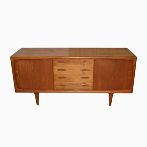Mid-Century Danish Sideboard in Teak from H.P. Hansen, 1960s