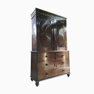 Antique Rosewood Armoire