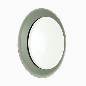 Vintage Italian Round Mirror, 1970s