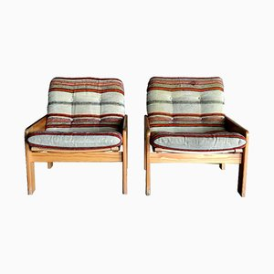 Lounge Chairs by Yngve Ekström for Swedese, 1970s, Set of 2