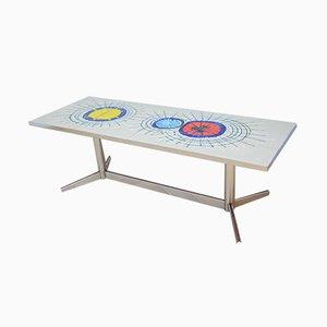 Table Basse Vintage par Juliette Belarti, 1970s