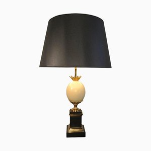 Austrian Egg Table Lamp from Maison Charles, 1960s