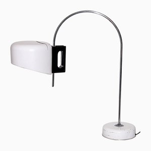 White Lacquered Table Lamp, 1960s