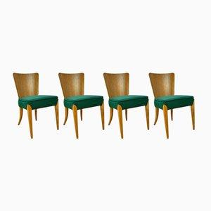 Chaises de Salle à Manger Vintage par Jindřich Halabala pour UP Zavody, Set de 4