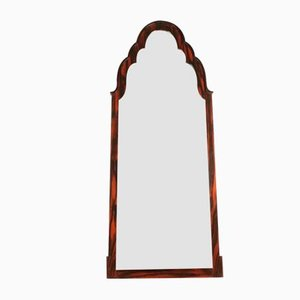 Makassar Ebony & Mercury Beveled Mirror, 1930s