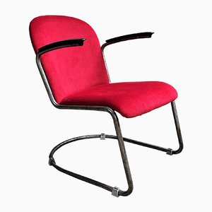 Model 413 Lounge Chair by Willem Henrik Gispen, 1940s