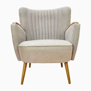 Mid-Century Grey Club Chair, 1960s