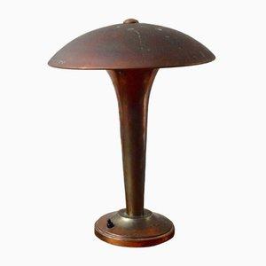Art Deco Mushroom Lampe, 1950er