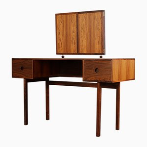 Mid-Century Danish Palisander Vanity Table Desk by Aksel Kjærsgaard, 1960s