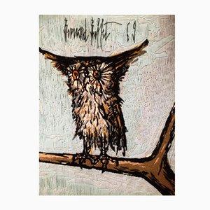 Tapisserie The Owl par Colette Morin pour DMC, 1969