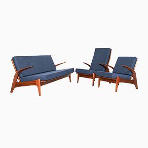 Dutch Mid-Century Sofa & Chairs by Gimson & Slater for de Ster Gelderland, 1960s