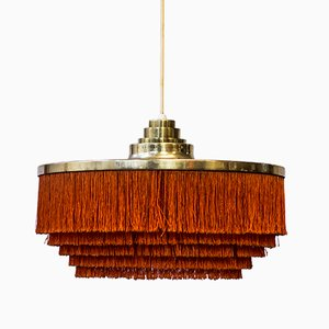 Lámpara de techo Fringe de Hans-Agne Jakobsson, años 60