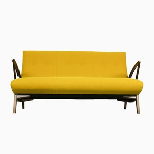 Dutch Design Yellow Sofa, 1960s