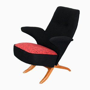 Dutch Penguin Chair by Theo Ruth for Artifort, 1950s