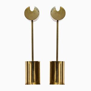 Candle Sticks by Pierre Forssell for Skultuna, 1960s, Set of 2
