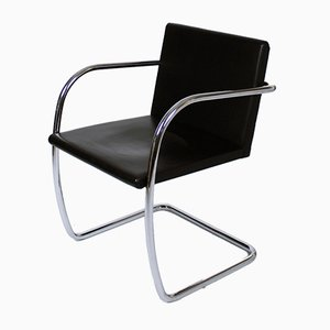 Tubular Brno Chair by Mies van der Rohe for Knoll International, 1980s