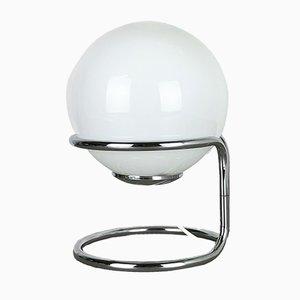 Lámpara de mesa cromada de Honsel Leuchten, años 60