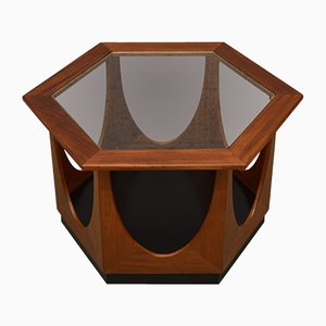 Mid-Century Hexagonal Coffee Table by Victor Wilkins for G-Plan