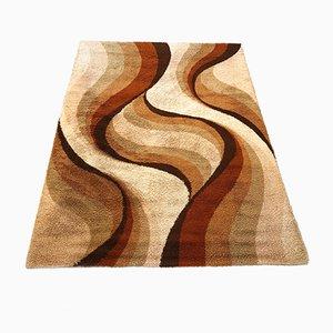 Großer hochfloriger Teppich in psychedelischer Optik von Prinstapijt Desso, 1970er