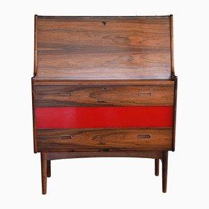 Vintage No-37 Rosewood Secretary by Arne Wahl Iversen for Vinde Møbelfabrik