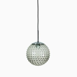 Glass Bubble Hanging Light by Rolf Krüger for Staff Lights, 1970s
