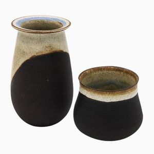 Vases by Nanni Valentini for Ceramiche Arcore, 1970s, Set of 2