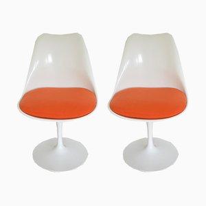 Sillas Tulip de Eero Saarinen para Knoll International, años 70. Juego de 2