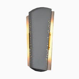 Espejo retroiluminado de Ernest Igl para Hillebrand Lighting, años 50
