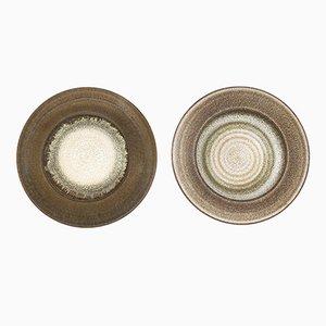 Milieux de Table par Nanni Valentini pour Ceramica Arcore, 1970s, Set de 2