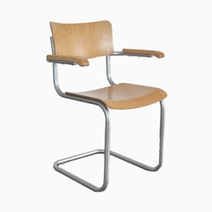 S43F Chair by Mart Stam & Marcel Breuer for Thonet, 2000s