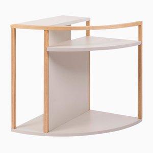 Mesa auxiliar multifunción Meja de laminado plástico ligero y fresno de Studio Nuance