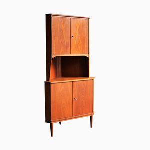 Mid-Century Corner Cabinet, 1960s
