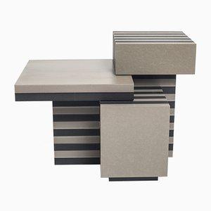 Tavolini Layers di Kajsa Willner, set di 3