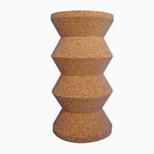 Taburete o mesa de corcho de Kajsa Willner