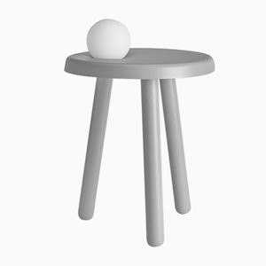 Alby Floor Lamp in Light Gray by Matteo Fiorini for Mason Editions