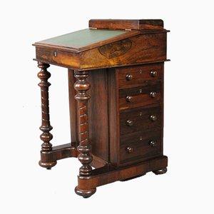 Escritorio antiguo de palisandro con cajones de Parkinsons Cabinet Makers