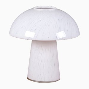 Glass Mushroom Table Lamp from Peill & Putzler, 1960s