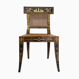 Mid-Century Egyptian Revival Klismos Chair, 1950s, Set of 2
