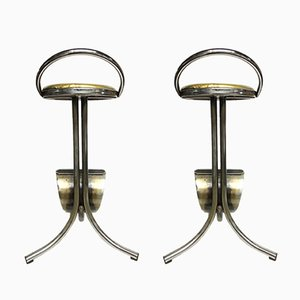 Industrial Stools, 1970s, Set of 2