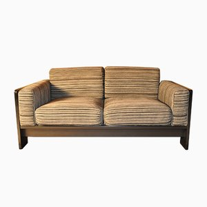 Sofá de dos plazas de Tobia Scarpa para Knoll International, años 70
