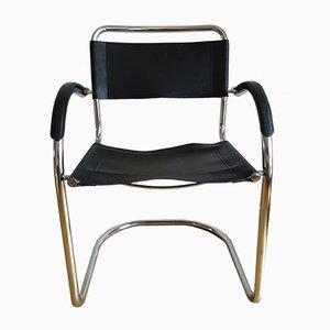 Chaise Tchèque en Chrome, 1970s