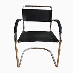 Chaise Bauhaus en Chrome, 1970s
