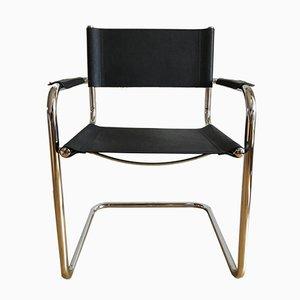 Sessel aus Chrom, 1970er