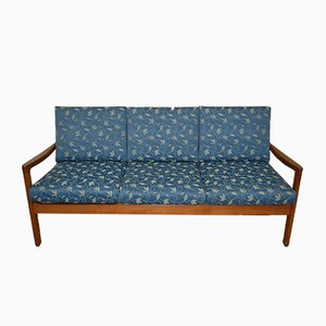 Danish Senator 3-Seater Sofa in Teak by Ole Wanscher for Cado, 1960s