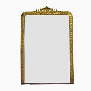 Antique Goldenrod Mirror, 1900s