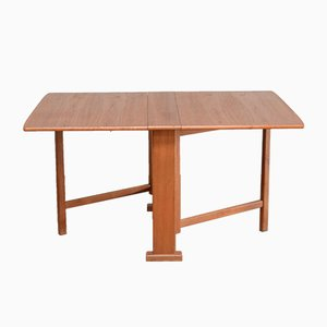 Danish Adjustable Teak Dining Table, 1970s